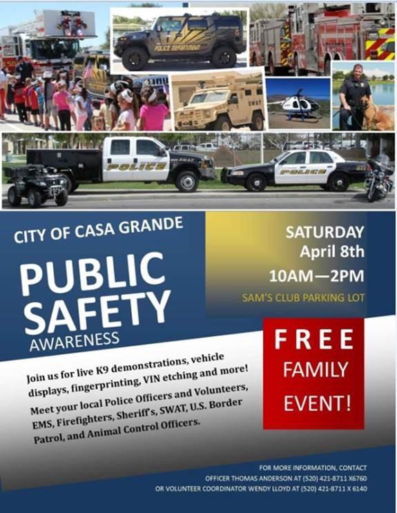 Casa Grande Public Safety Day